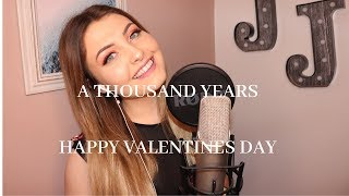 ❤️ VALENTINES DAY SPECIAL ❤️ 'A thousand Years' | Cover by Jenny Jones