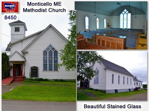 SOLD! Maine Church For Sale | Real Estate In Monticello ME | MOOERS#8450
