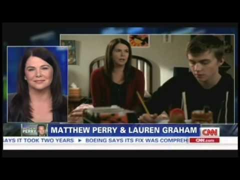"""Matthew Perry & Lauren Graham on """"Piers Morgan Live"""" (July 26, 2013)"""