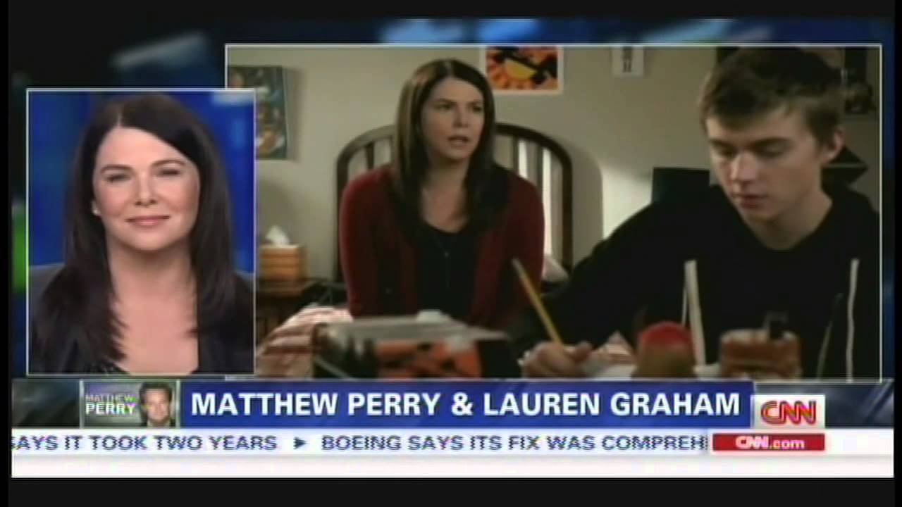 Are Matthew Perry and Lauren Graham dating, like for real ...