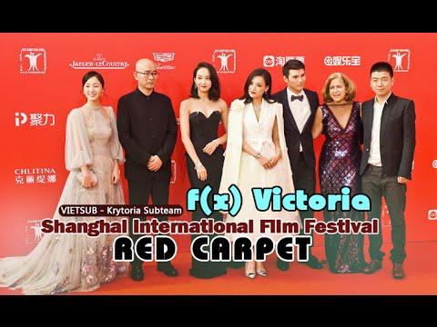 [Vietsub] f(x) Victoria - Shanghai International Film Festival Red Carpet {Krytoria Team}
