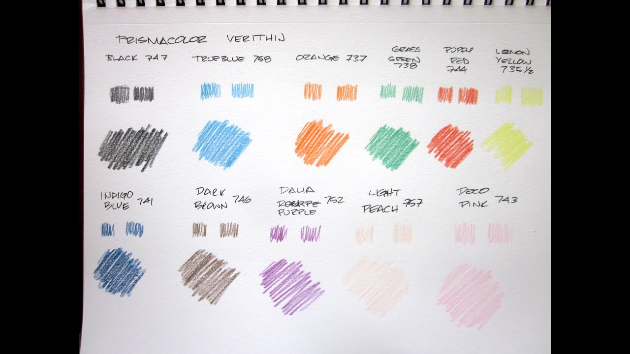 Prismacolor verithin review youtube nvjuhfo Choice Image