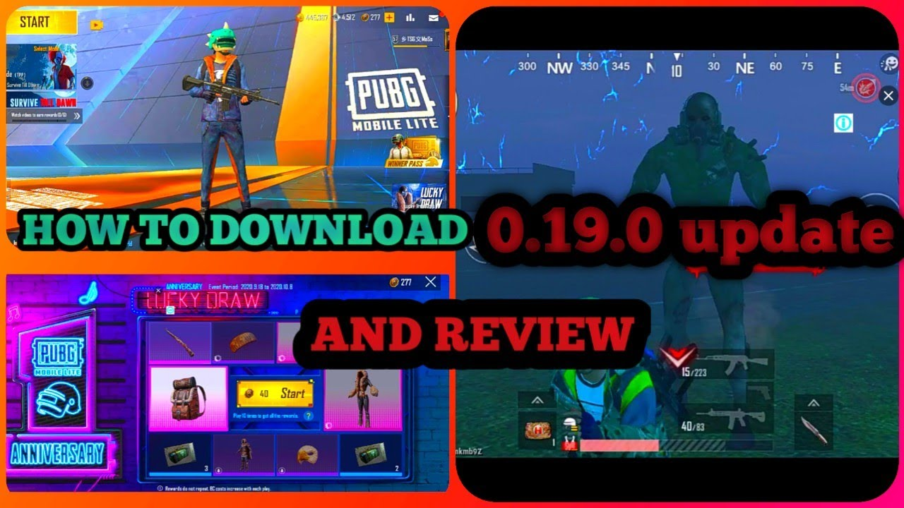 Pubg lite 0.19.0 update review and DOWNLOAD 🤫🤫|HOW TO DOWNLOAD 0.19.0 UPDATE