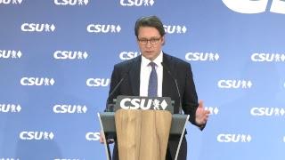 #Klartext von Generalsekretär Andreas Scheuer zu den Ergebnissen der Parteivorstandssitzung!
