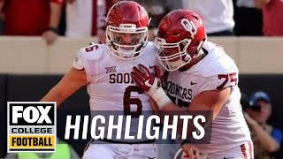 Oklahoma vs. Oklahoma State | Highlights | FOX COLLEGE FOOTBALL