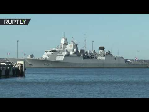 'Spring Storm': 6 NATO ships arrive in Tallinn port for drills