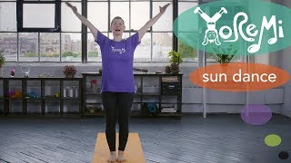Sun Dance (Sun Salutation) | Kids Yoga, Music and Mindfulness with Yo Re Mi