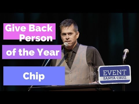 video:Give Back Person of the Year - Chip at the 2018 NEXTies