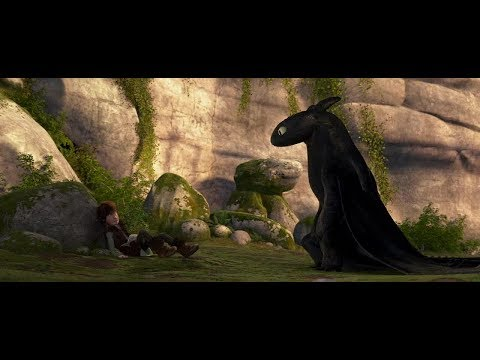 Иккинг приручает Ночную Фурию   Как приручить дракона ( How to Train Your Dragon )