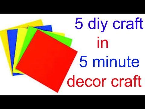5 AMAZING CRAFT FOR DIWALI DECORATION/ PAPER CRAFT/DIY ART AND CRAFT IDEAS/DECOR CRAFT/Creative Art