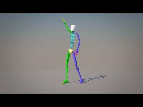 Motion Capture Tutorial (Xbox Kinect)