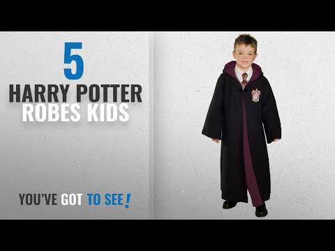 Top 10 Harry Potter Robes Kids [2018]: Rubie's Deluxe Harry Potter Child's Hermione Granger Costume