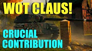 WOT - Claus Picks Crucial Contibution | World of Tanks