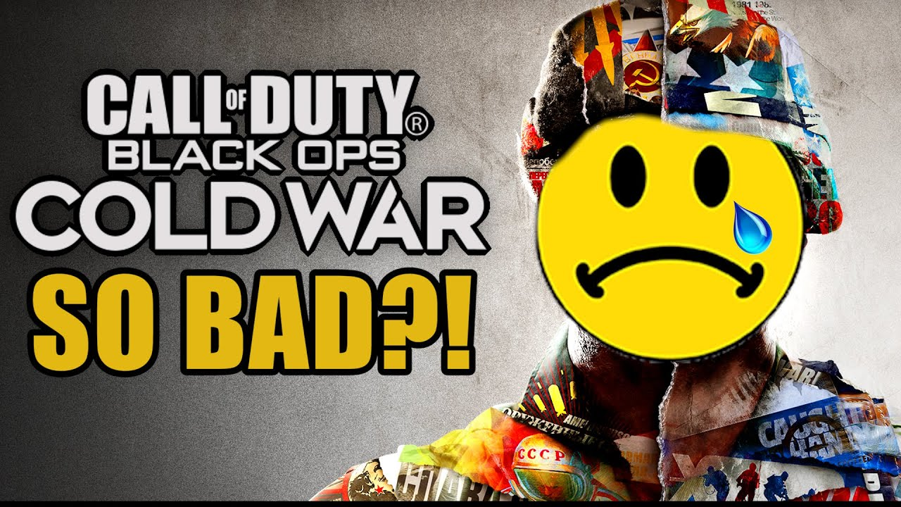 Why Is Black Ops: Cold War SO BAD?!