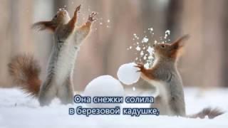 Потолок ледяной дверь скрипучая | Детская новогодняя песня | Cantofilm