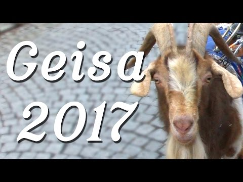 The goat is free - Carnival in Geisa Germany