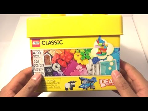 Lego Classic 2015 Unboxing 10692 - Creative Bricks 221 pieces Ideas Included