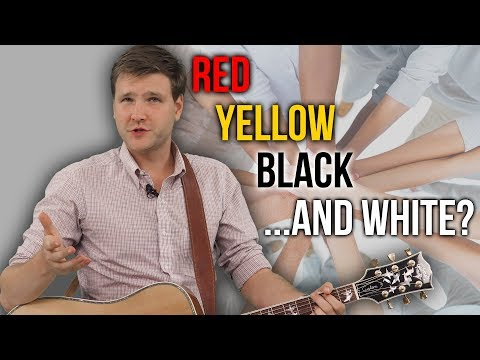 Red, Yellow, Black ...and White? | David Rives