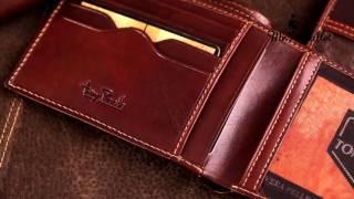 Tony Perotti стильное кожаное портмоне. Артикул  It397 cognac(, 2015-11-17T12:13:59.000Z)