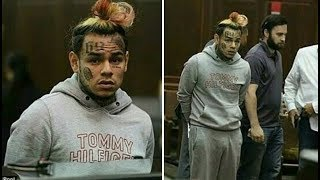6ix9ine Transferred to Rikers Island for his Own Safety after being Denied Bond. He is in Isolation. thumbnail