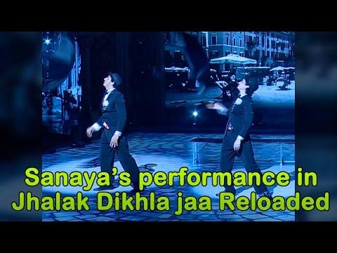 Sanaya Irani's Jhalak Dikhla Jaa Reloaded Technical Rehearsals