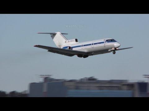 взлёт Як-40 Вологодское