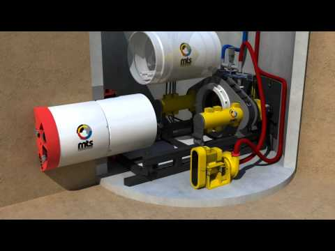 Mts Perforator Microtunnelling Slurry System Pipe