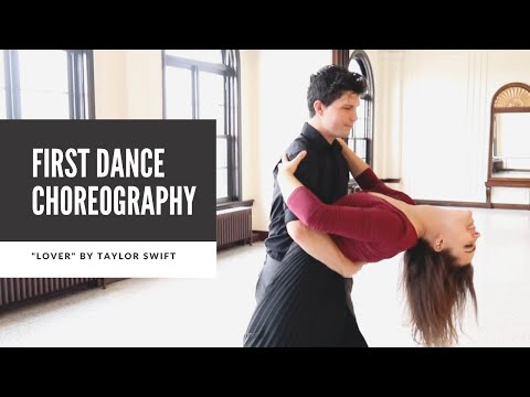 Wedding First Dance Choreography To Lover By Taylor Swift | Duet Dance Studio