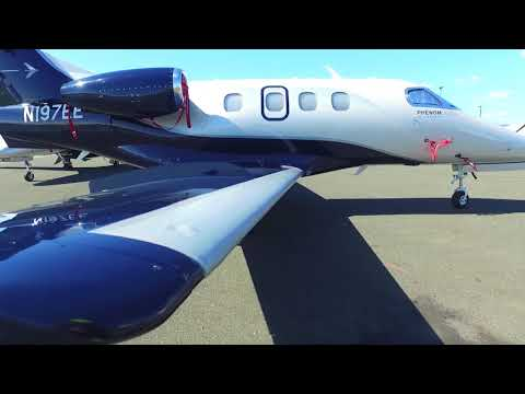 Embraer Phenom 100EV N197EE at Hayward Executive Airport