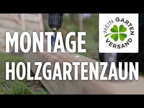 Mein Gartenversand: Gartenzaun Aufbauen