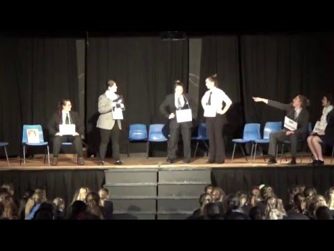 SIXTH FORM ENTERTAINMENT ROYAL SCHOOL 2015