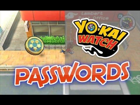 Us Passwords Yo Kai Watch 5 Star Coin Passwords As Of 41216