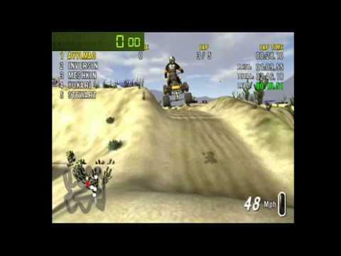 Speedrun: ATV Offroad Fury 2-Saguaro Wash (5 Lap Race) [WR] [5m 45]