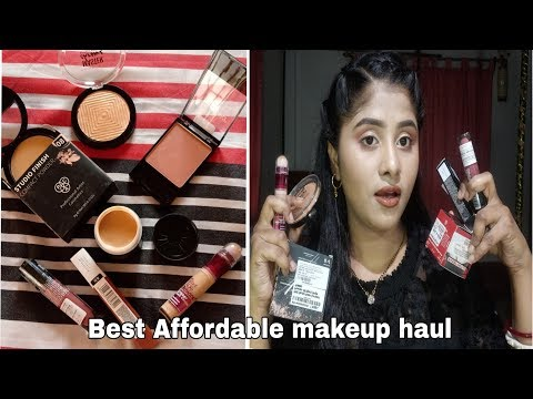 Best makeup haul # top full face products with in affordable range