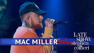 Mac Miller Performs