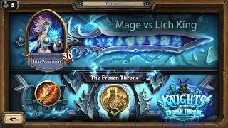 Hearthstone: Mage vs Lich King