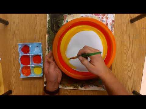 Painted Plate Loom