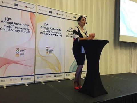 EaP CSF 10th Annual Assembly 10 12 December 2018, Tbilisi, Georgia