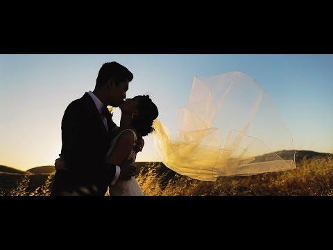 Modern and Romantic Wedding Film from California Vineyard Wedding at Nella Terra Cellars
