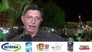 Na abertura do Natal de amor e luz, prefeito José Abner ressalta contentamento com o reciclar
