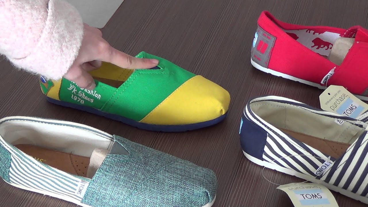 Toms Shoes Outlet sale online - YouTube