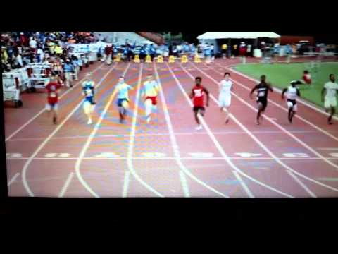 2015 UIL State Track Meet, Boys 100m (3a)