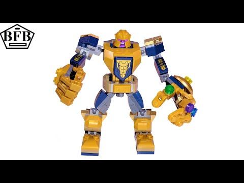 lego-avengers-76141-|-marvel-super-heroes-|-thanos-mech-|-lego-speed-build-review
