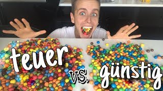 Ich ERRATE Süßigkeiten TEUER vs. GÜNSTIG 😍 | Julienco