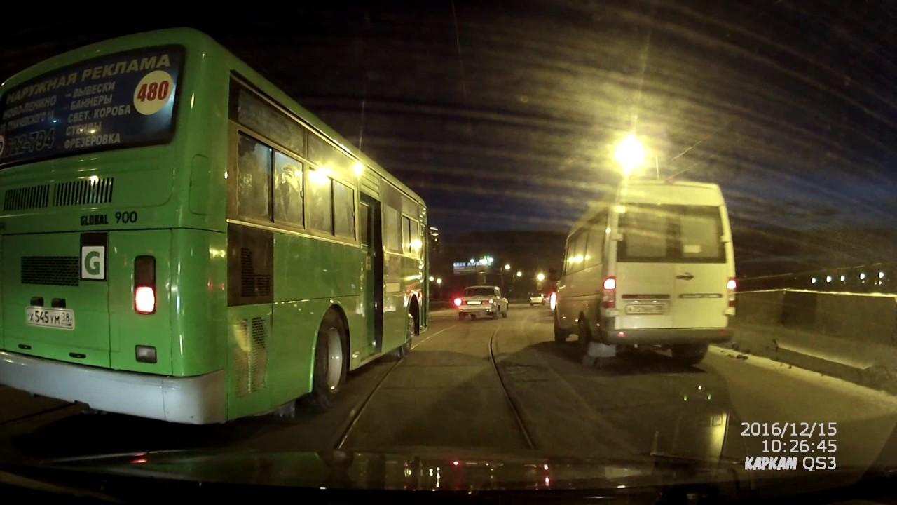 Глазковский мост дтп автобус волга