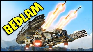 "Crossout NEW Game Mode BEDLAM Update & ""The Bat"" Build (Crossout Gameplay)"