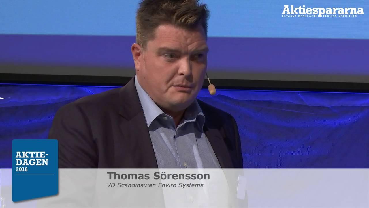 Aktiedagen Stockholm – Scandinavian Enviros Systems