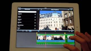 IMovie für's IPad, App Tutorial