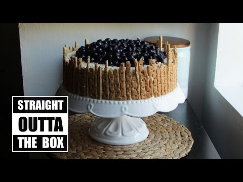How to Make a Delicious Lemon-Blueberry Cake | Straight Outta the Box | Become a Baking Rockstar