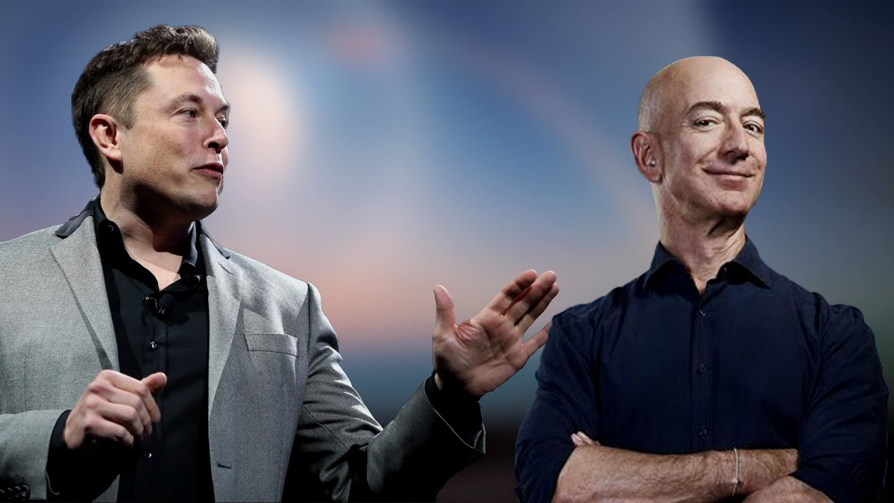 Elon Musk VS Jeff Bezos: The Battle of The Billionaires for Space